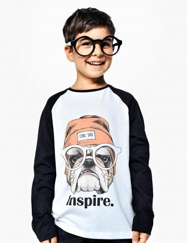 Kids Baseball Shirt INSPIRE