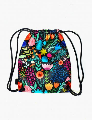 Drawstring Bag BE THE CHANGE