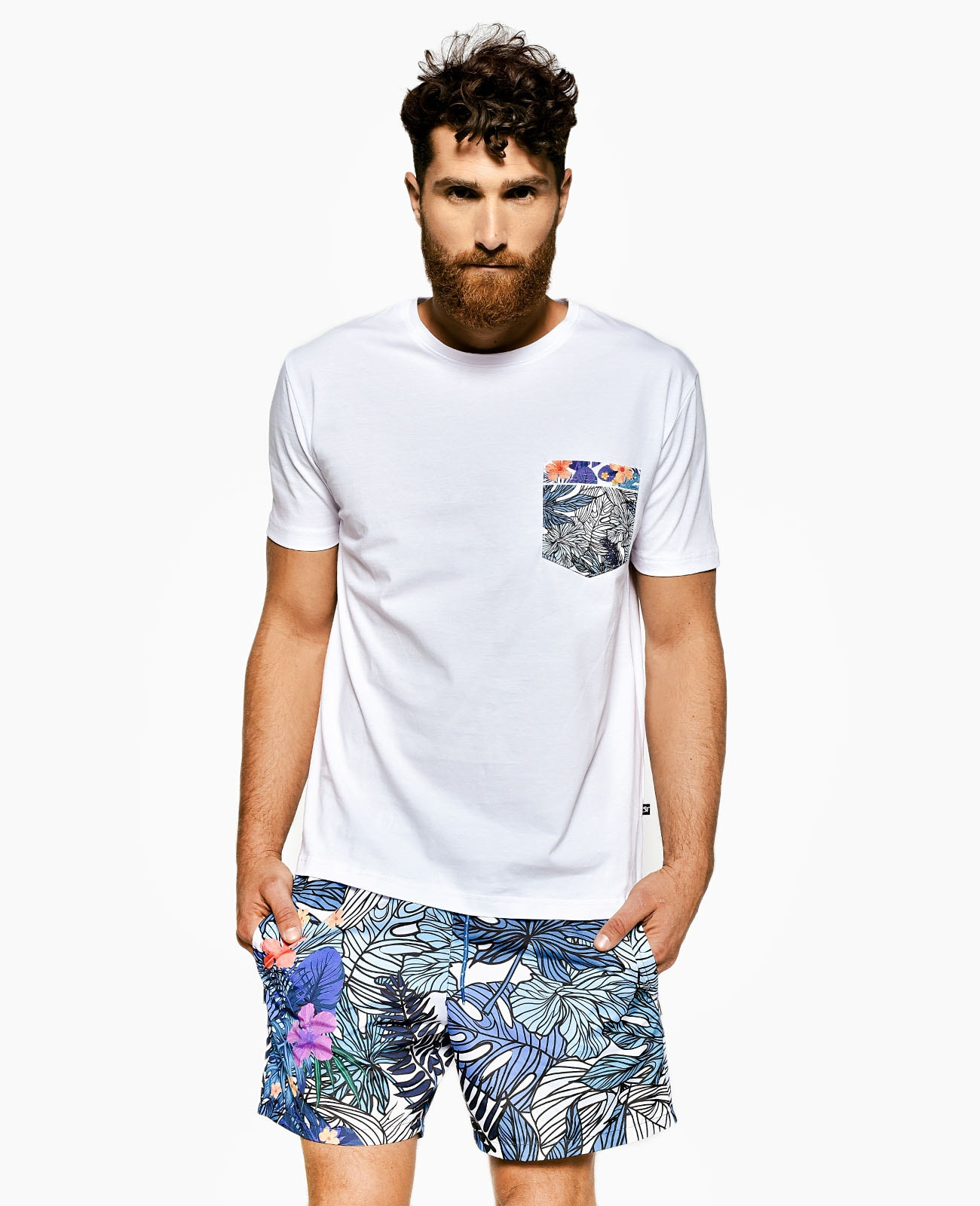 Men's Pocket T-Shirt SAN TROPEZ