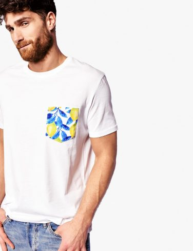 Men's Pocket T-Shirt LEMONS