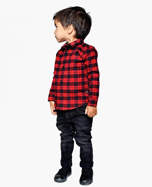 Kids Checked Flannel Shirt MOST WANTED