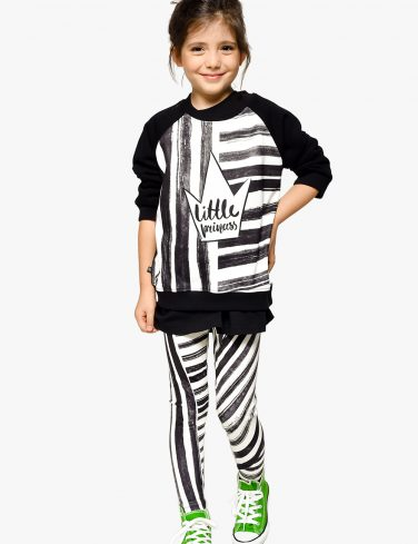 Kid Sweatshirt STRIPE PRINCESS