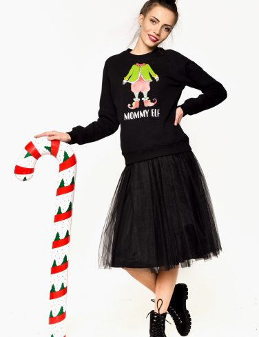 Women's Christmas Jumper ELF
