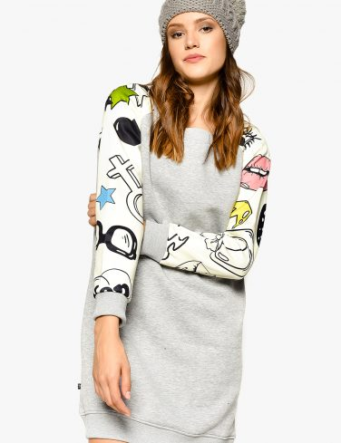 Women's Sweatshirt Dress TRENDY
