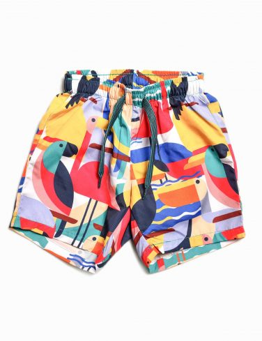 Boys Patterned Swim Shorts BAHAMAS