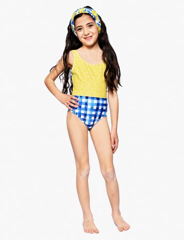 Girls Swimsuit LEMONS